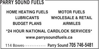 Parry Sound Fuels